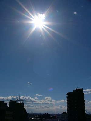 JASCOの屋上から。