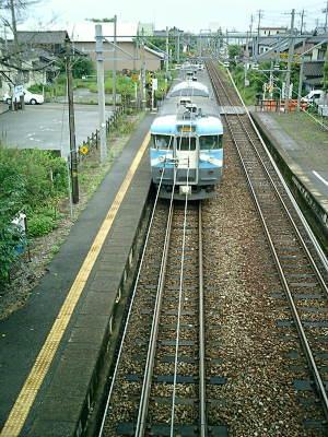 某線某駅より。