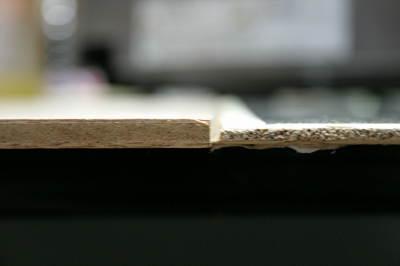 薄いほうの板。
