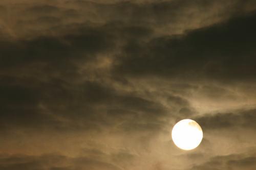 太陽はどう撮っていいのかいまだによくわかりません