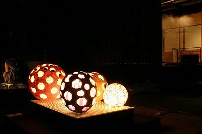 ちなみに光源は電球。