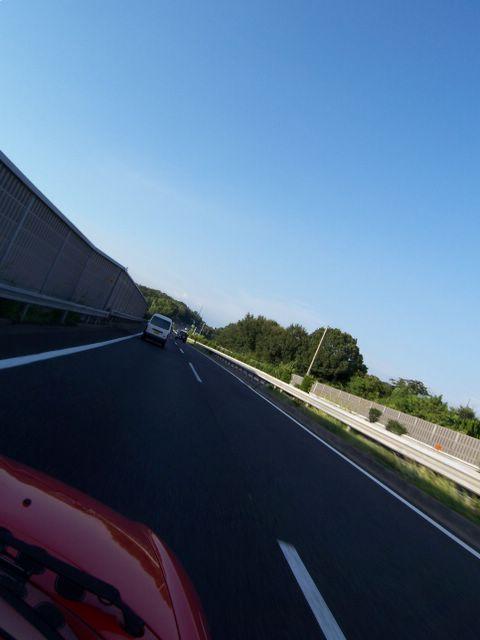 帰りの知多半島道路。